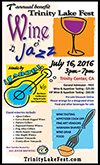 Trinity Lake Wine and Jazz Fest - July 20